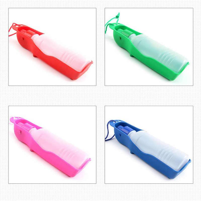 ライト押出小型犬旅行水ボトルスリングポータブル Ourdoor 飲料ボウル猫犬用の水供給装置