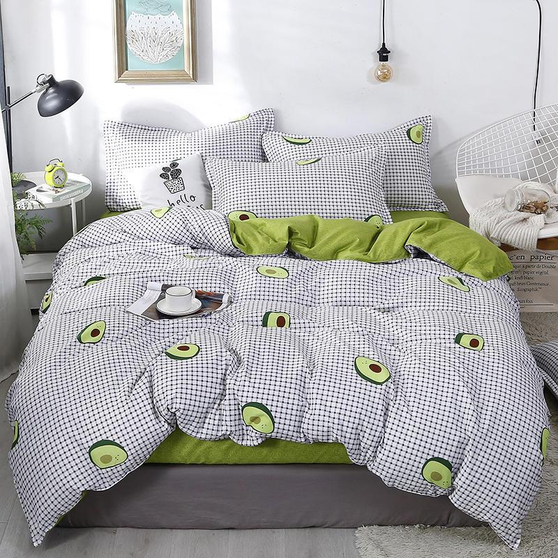 Printing Duvet Cover Sets King Activity Bedding sets RU USA EU AU Size,Quilt cover Sheet Set Bedroom Bedding Bed Linen AB side