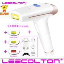 100% מקורי Lescolton 4in1 1000000 פעמו IPL לייזר שיער מכשיר להסרת שיער לצמיתות הסרת IPL לייזר אפילציה השחי