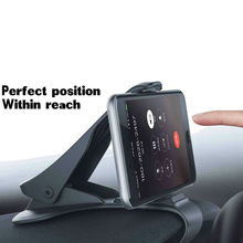 Mobile Cell Phone GPS Car HUD Dashboard Mount Holder Stand B