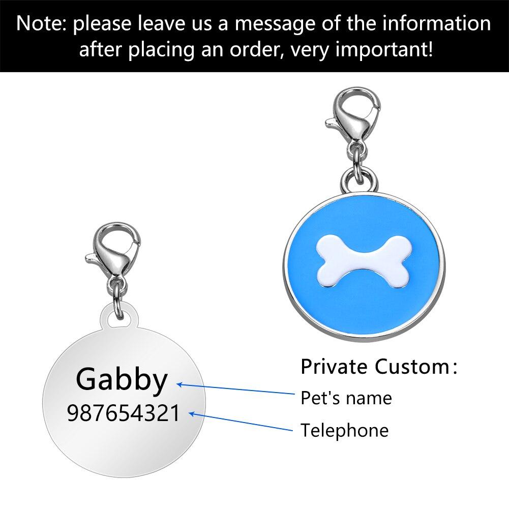 Купить персонализированные анти утерянные заказные ярлыки для удостоверения
