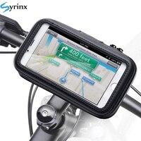 Funda impermeable para teléfono móvil iPhone Xs Xr X 8 7, funda para bicicleta y motocicleta, soporte para patinete
