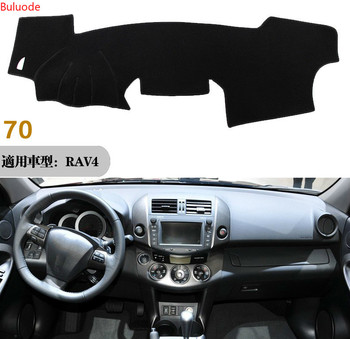 цена на For Toyota RAV4 RAV 4 2009 2010 2011 2012 Right Left Hand Drive Car Dashboard Covers Mat Shade Cushion Pad Carpets Accessories