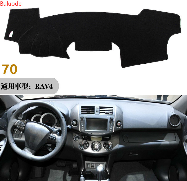For <font><b>Toyota</b></font> <font><b>RAV4</b></font> RAV 4 2009 <font><b>2010</b></font> 2011 2012 Right Left Hand Drive Car Dashboard Covers Mat Shade Cushion Pad Carpets Accessories image
