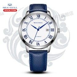 Мужские автоматические механические часы Seagull, роскошные часы с чайкой, 42 мм, модные простые деловые часы, 2019