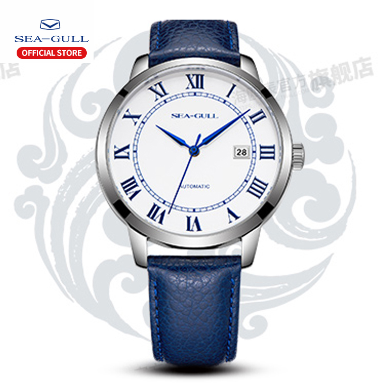2019 Seagull Couple Table Automatic Mechanical Watch Luxury Brand Seagull 42mm Fashion Simple Business Watch 819.11.6082