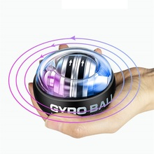 Led Self-starting Gyro Ball Powerball Contador Arm Expander Hand trainer Gyroscope Wrist Force Exercise Relax Fitness Equipment