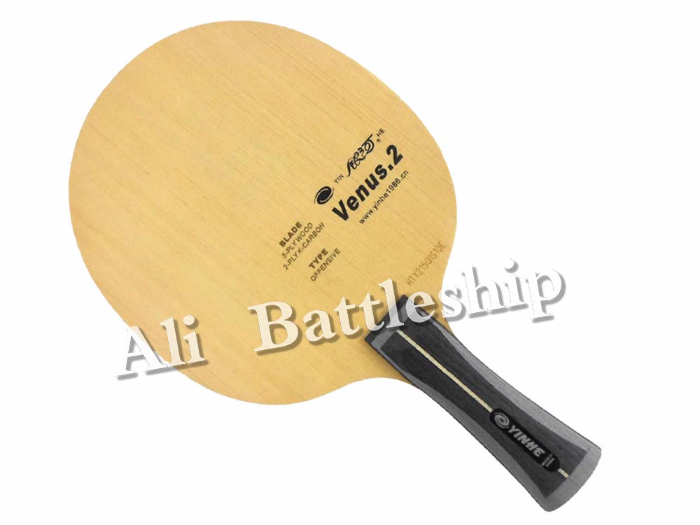 Original Yinhe  Milky Way  Galaxy Venus.2 V2 V 2 V-2 Table Tennis  Pingpong Blade