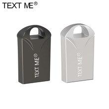 TEXT MICH Super Mini USB-Stick 128GB 64GB 32GB 16GB 8 GB Metall Stift Stick pendrive 128 64 32 16 8 GB USB-Speicher Cle USB