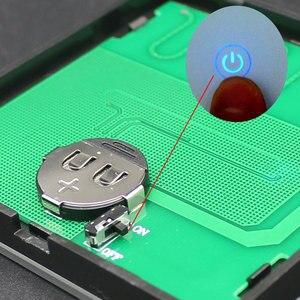 Image 5 - Ktnnkgゴールド 86 壁タッチリモコンワイヤレスrfトランスミッタ強化ガラスパネル + ledランプライトのための 433mhzのEV1527 チップ