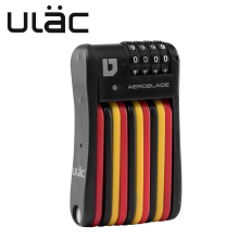 ULAC Bike Bicycle Password Folding Lock MTB Road Cycling Anti-theft Safety Firmly Rectangle High Security Accessories