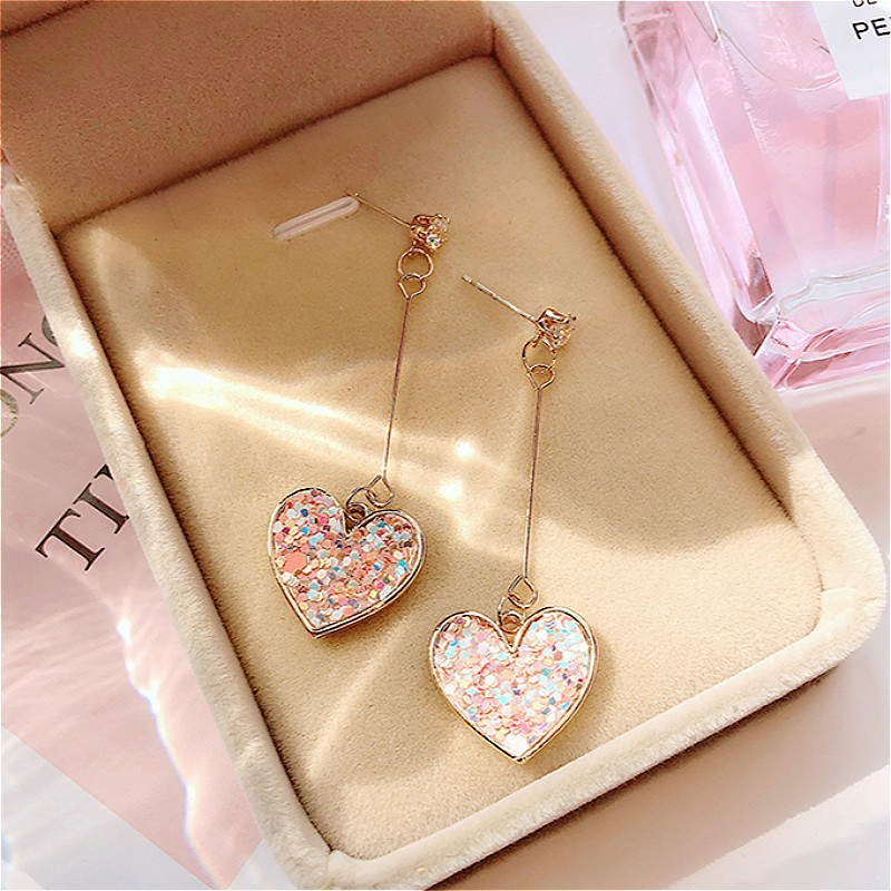 Crystal Earrings Rhinestone New-Design Women for Wedding-Party-Gift Hot-Sell