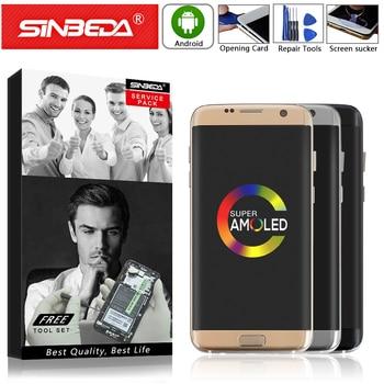 "Pantalla LCD de 5,5 ""Super AMOLED para SAMSUNG Galaxy S7 Edge G935, pantalla táctil, digitalizador para SAMSUNG S7 Edge G935 G935A G935F"