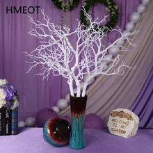 Artificial Coral Branch Plastic Plants Dried Plants Tree Branch Decor For Flower Home