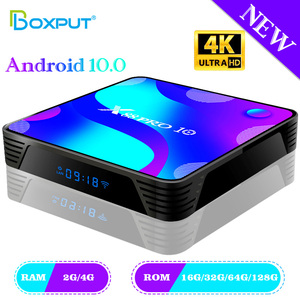 Android 10 OS Smart TV Box 4K