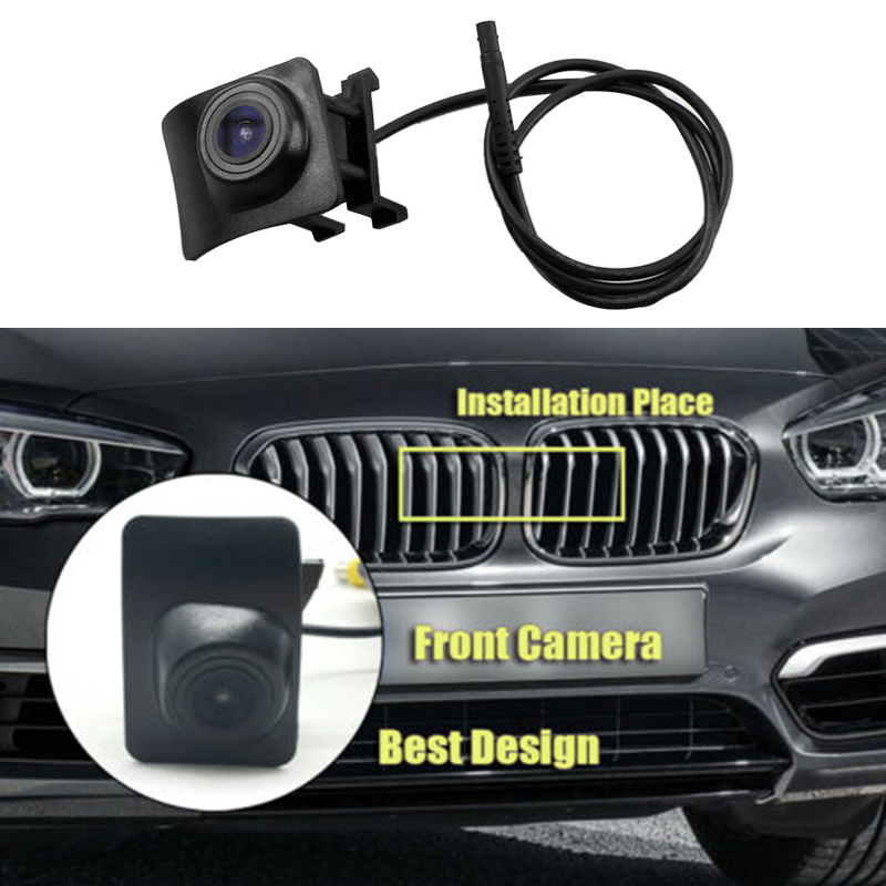 Car Front View Logo Embedded Camera Night Vision Waterproof Camera For-BMW 1 Series