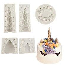 Unicorn/Ear/Eye silicone mold 1PC/ 2PCS fondant