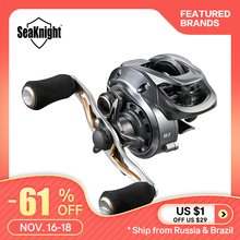 Seaknight Baitcasting Reel Fishing-Tackle Drag-Power 18lb-Carp High-Speed Super-Long