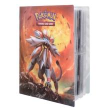 2021 plus récent 36Styles 240 pièces titulaire Album jouets Collection Pokemon cartes Album livre haut chargé liste jouets cadeau pour les enfants