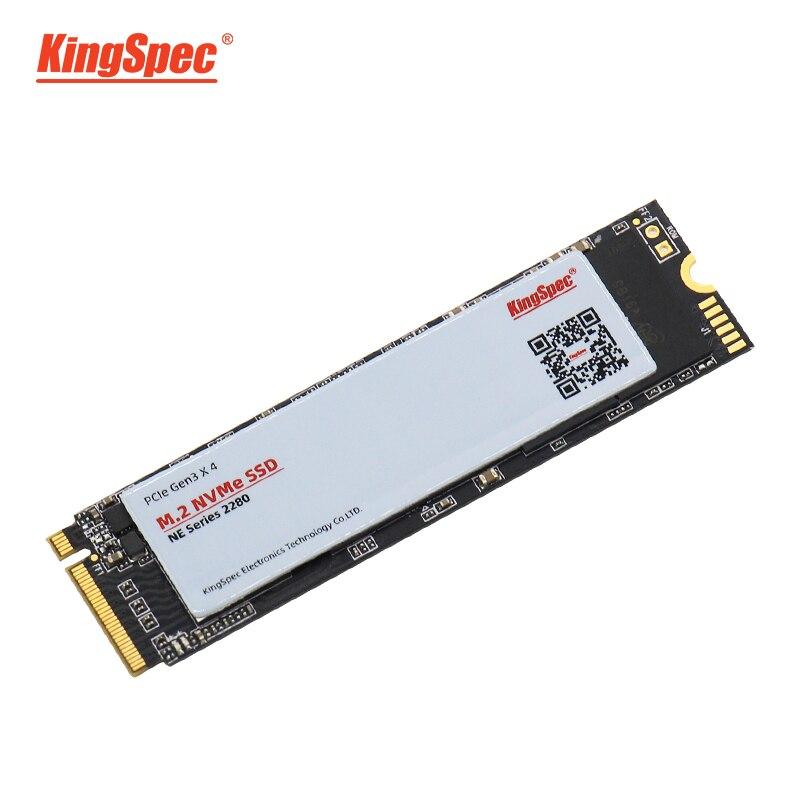 KingSpec M.2 SSD 500GB 512GB Signal de PCI-e3.0X4 NVMe disque dur solide HDD HD 22X80 SSD M2 disque dur interne pour tablettes d'ordinateur portable