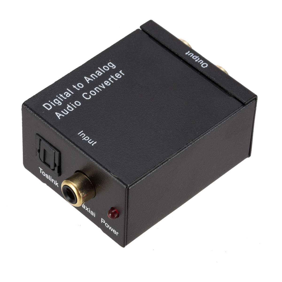 Grwibeou digital to analog audio converter fiber toslink coaxial - Audio dan video mudah alih - Foto 4