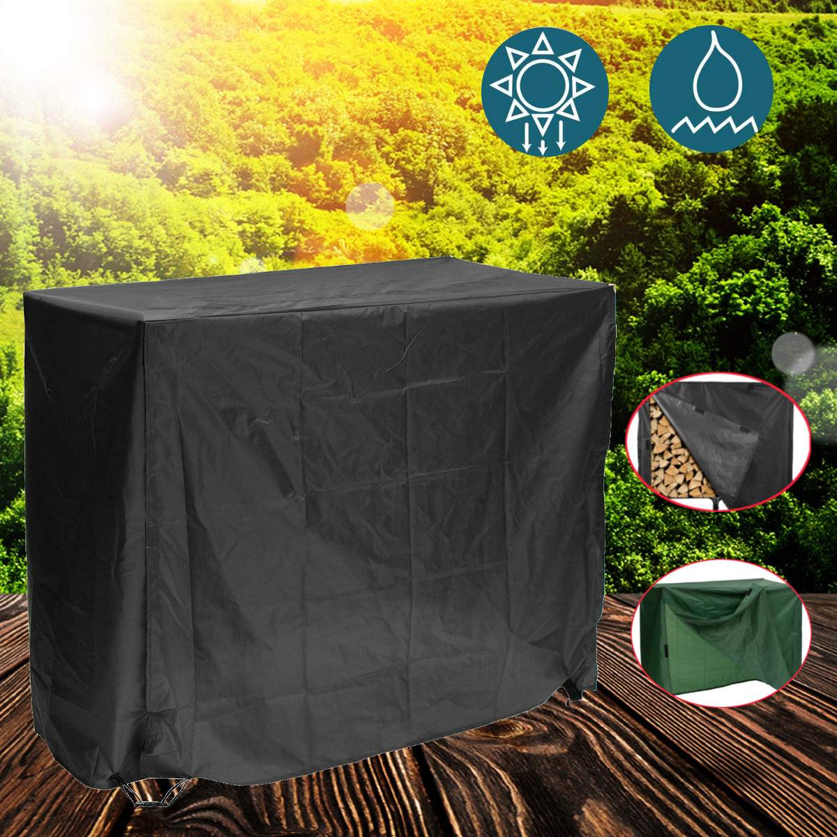 Proof Cover Garden Furniture Covers Waterproof Patio Swing Dustproof For Outdoors Garden Protective Case