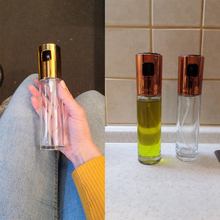 Szklany dozownik do oliwy z psikaczem 100ML