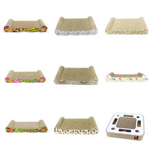 Cat Scratcher Cardboard Furniture Pet-Products Cat-Toys Protecting Rectangle Bed Hollow