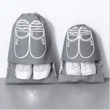 Шнурок Мешок Крышка Водонепроницаемый Обувь Сумка Для Хранения Портативный Организатор Нетканый Организатор Прачечная