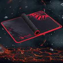 A4Tech Hot Top Kualitas Berdarah Disesuaikan Mousepads Komputer Laptop Anime Mouse Mat Karet Lembut Profesional Gaming Mouse Pads(China)