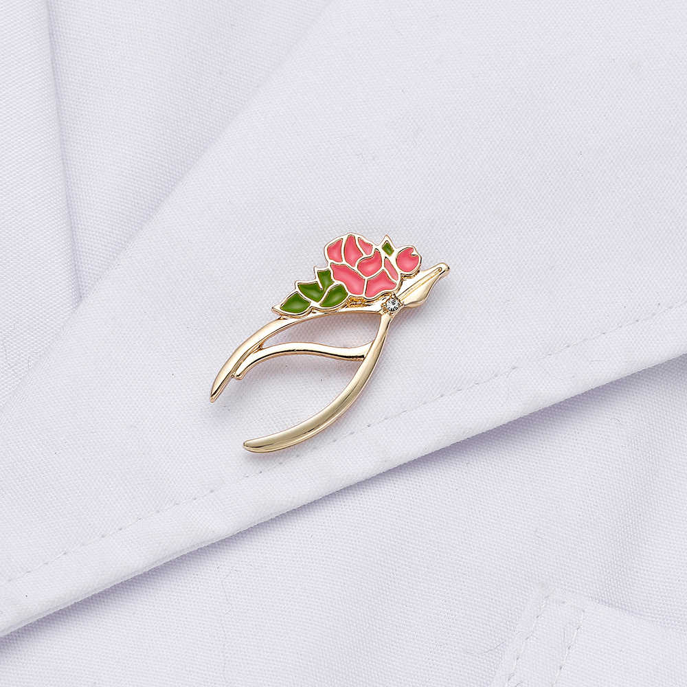 13 Gold Silver Color Forceps Pins Dentist Romantic Jewellery Medical ...
