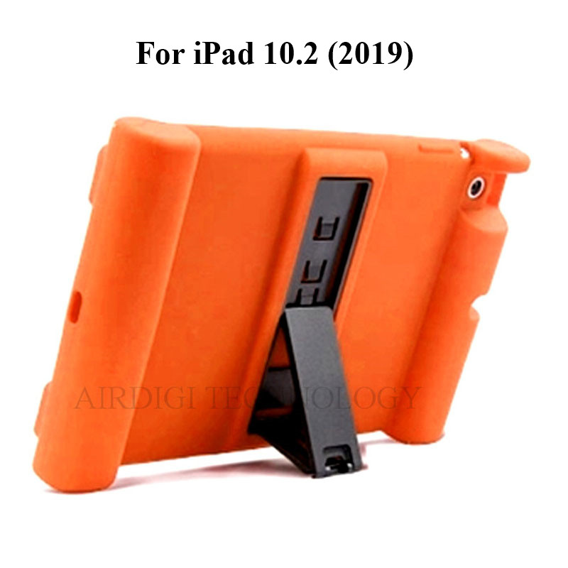 A2428 Case Shockproof Cover for Soft A2270 10.2 A2197 A2198 A2200 iPad Kickstand Silicone