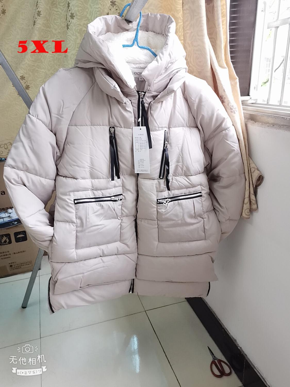 Shipp within 12hours Winter Cotton Coat Women Plus Size M 5XL Zipper Big Pocket Armygreen Outwear