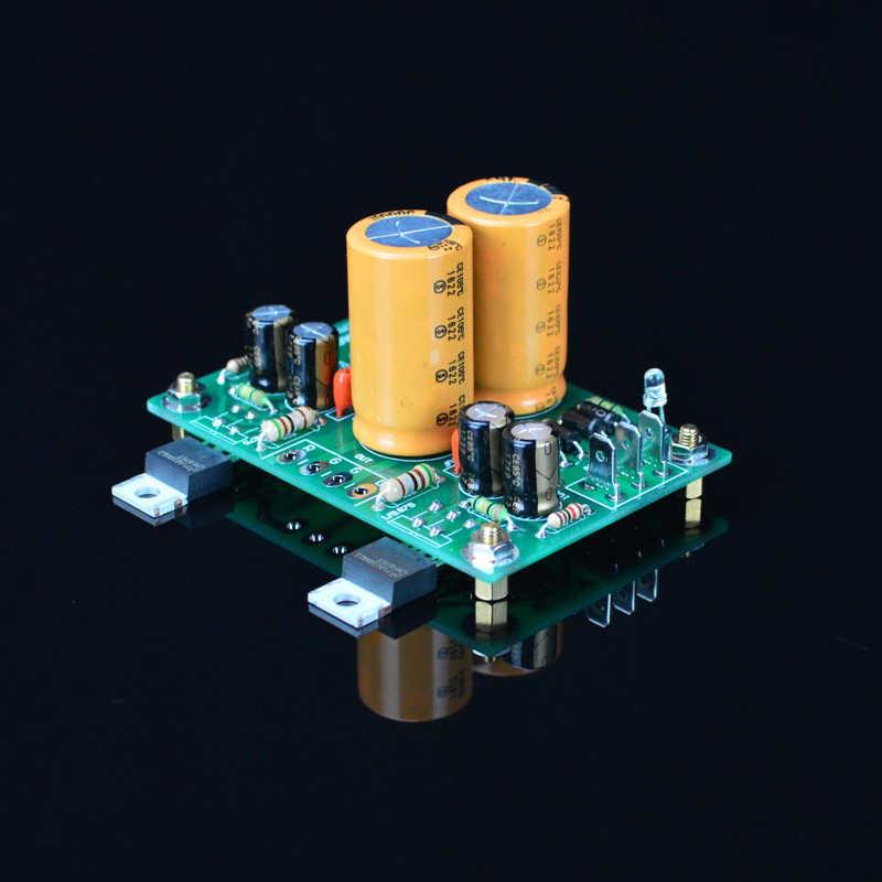 Gaincard SUQIYA-20W versão dos dois-canal LM1875 sabor tubo kit amplificador de potência terminou bordo