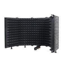 5 Панель складной Студийный микрофон для записи Изоляционная