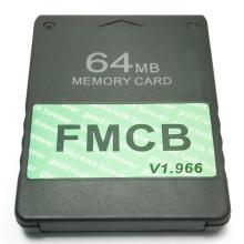 Free McBoot V1.966 8MB/16MB/32MB/64MB Memory Card For PS2 FMCB Version 1.966