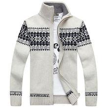 Поставка мужской кардиган свитер пальто стильный парень большой
