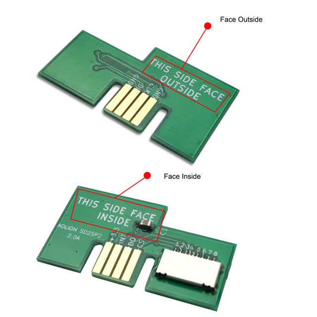 Replacement Micro SD Card Adapter TF Card Reader for NGC SD2SP2 SDLoad SDL Adapter Professional 1