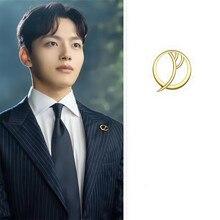 LUNA Spilla DEL LUNA Hotel IU Coreano drammi TV di Nuovo Modo di personalità Per Le Donne pendientes brincos ornamento