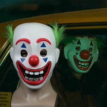 2019 Movie Joker Arthur Fleck Cosplay Mask Clown Horror Latex Halloween Masks