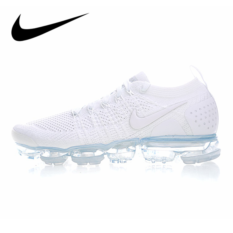 Original Authentic NIKE AIR VAPORMAX FLYKNIT 2 Running Shoes For Men Breathable Sport Durable Jogging Athletic Sneakers 942842