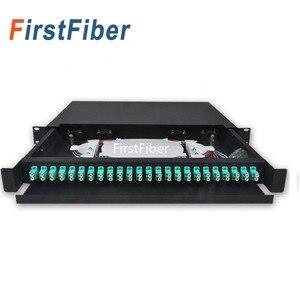 Image 3 - 冷間圧延光ファイバ引き出し odf 24 デュプレックス lc 24 ポート光ファイバパッチパネル分布フレーム