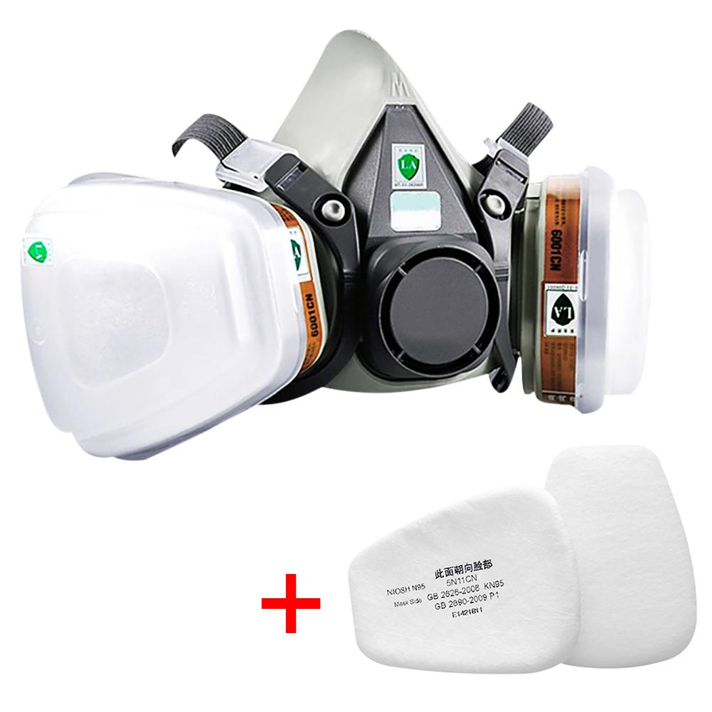 6200 Mask Respirator Cycling Dust Mask Fine Air PM2.5 Filter Anti Odor Smog Prevent Formaldehyde Bad Smell Dust Comfort Mask