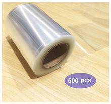 Label Protectors 1.5X4 inch Clear Protector Shields 500 per rollClear Book Repaire Tape Labels