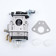 Oil Bubbles Carburetor Engine 15mm For Brushcutter 43cc 49cc 52cc Strimmer Cutter Chainsaw 1 Set