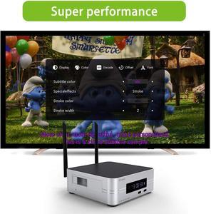 Image 3 - Zidoo Z10 4K Media Player אנדרואיד 7.1 חכם הטלוויזיה Box 2G 16G DDR ממיר 10Bit HDR כפול WiFi USB 3.0 BT 4.0 עם מתנה חינם