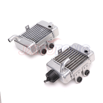Alloy Radiator Kit for KTM 50 SX SXS Mini 49cc 50cc water cooled Mini Cross Dirt bike