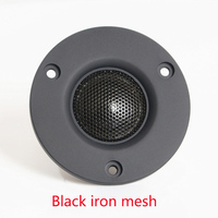 3-inch tweeter 25-core silk film treble HIFI enthusiast unit W-5 black speaker