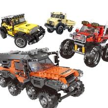 Toys Model-Bricks Building-Blocks Mechanical-Truck Vehicle Car City Technic Creator MOC