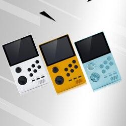 نظام ألعاب ريترو محمول باليد الجيب/مزدوج التمهيد مفتوح أندرويد + حافظة حمل/بطاقة SD/زجاج مقسى/OTG